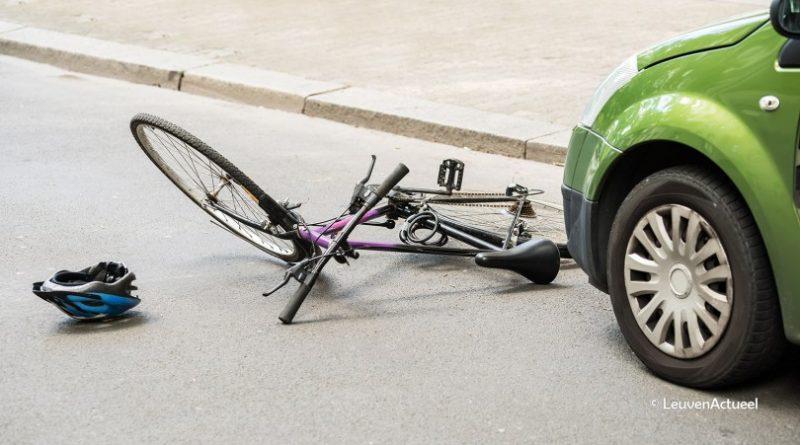 ongeval met fietser