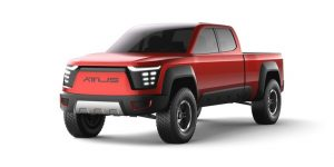 Atlis zoekt 1 miljoen dollar voor elektrische Pick-up.