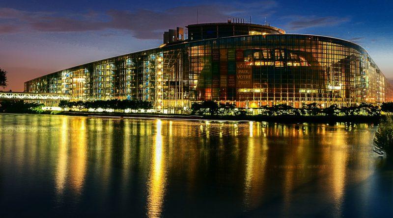 Europees parlement in Straatsburg