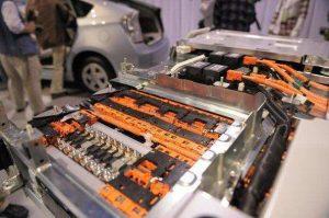 batterij voor een elektrische wagen