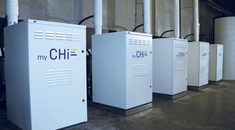 een Chi elektriciteitscentrale