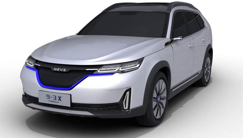NEVS 9-3 Saab