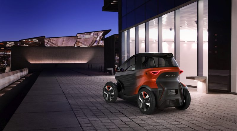 De Minimo, een elektrische stadswagen van Seat
