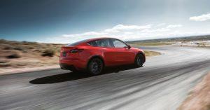 de nieuwe model Y van Tesla