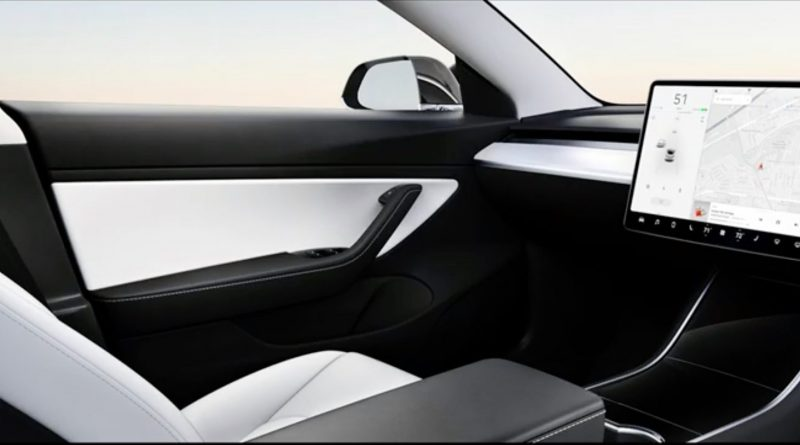 Tesla model 3 maar dan zonder stuur
