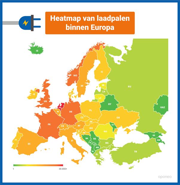Hoe doet de elektrische auto het eigenlijk in Europa?