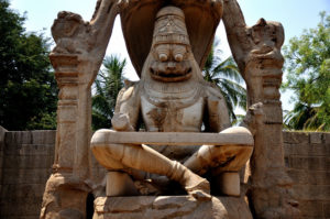 yoga statue