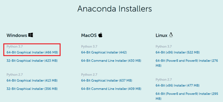 Anaconda Python Individual Edition Download Windows