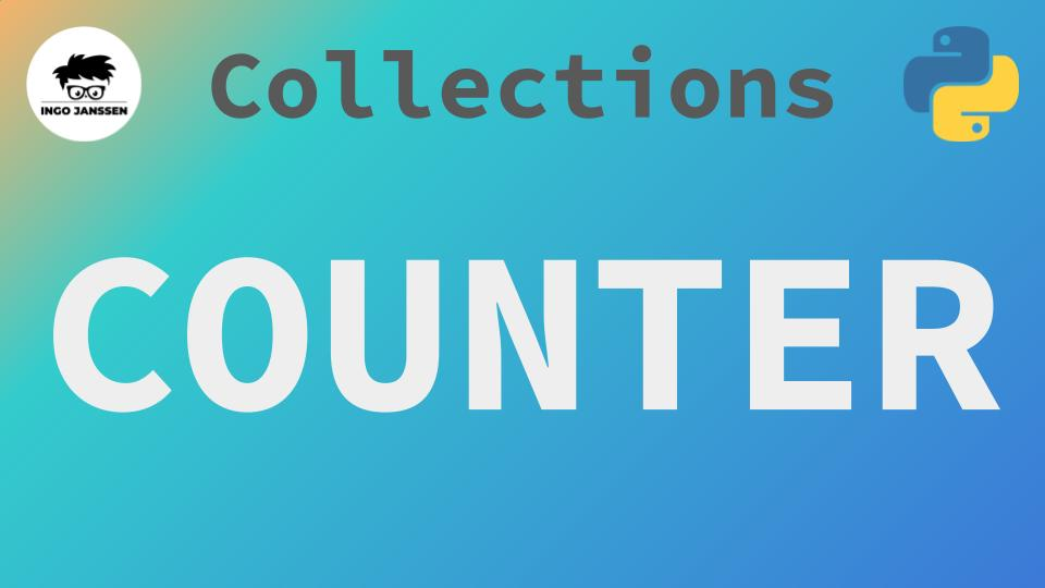Beitragsbild - collections - Counter