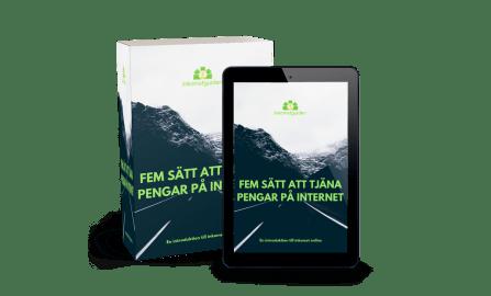 gratis e-bok om sätt att tjäna pengar på internet