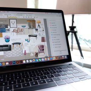 Inredninghjälp i ditt hem med moodboard.