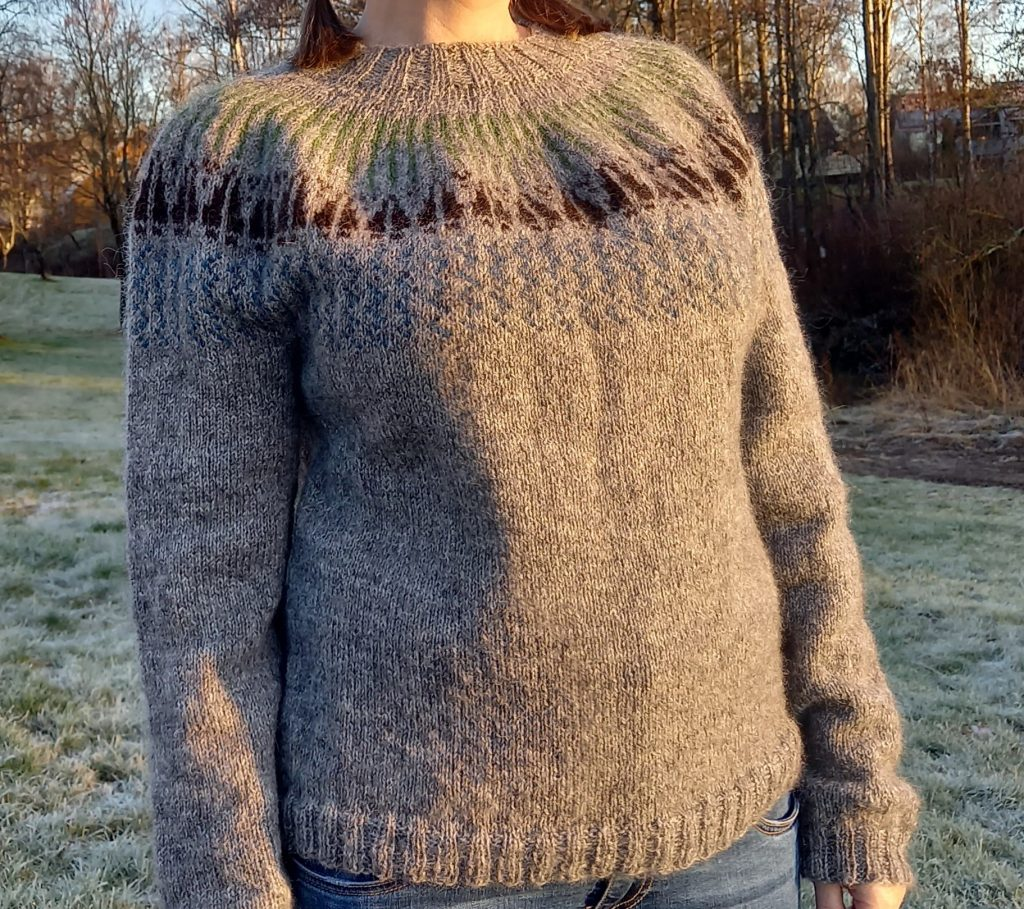 Sweater Jakt, a sweater for a hunter.