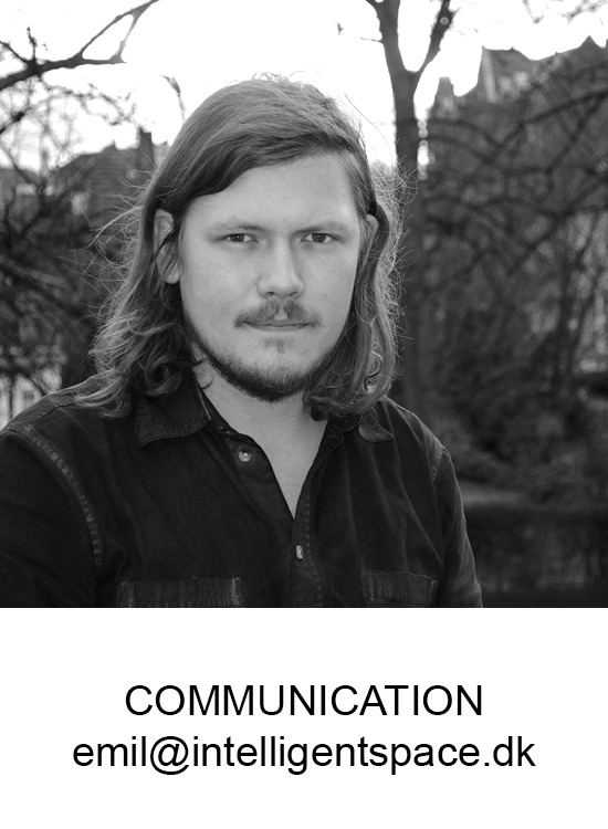 Emil Hallgren Christiansen. Director of communication and digital coordination at Intelligent Space.