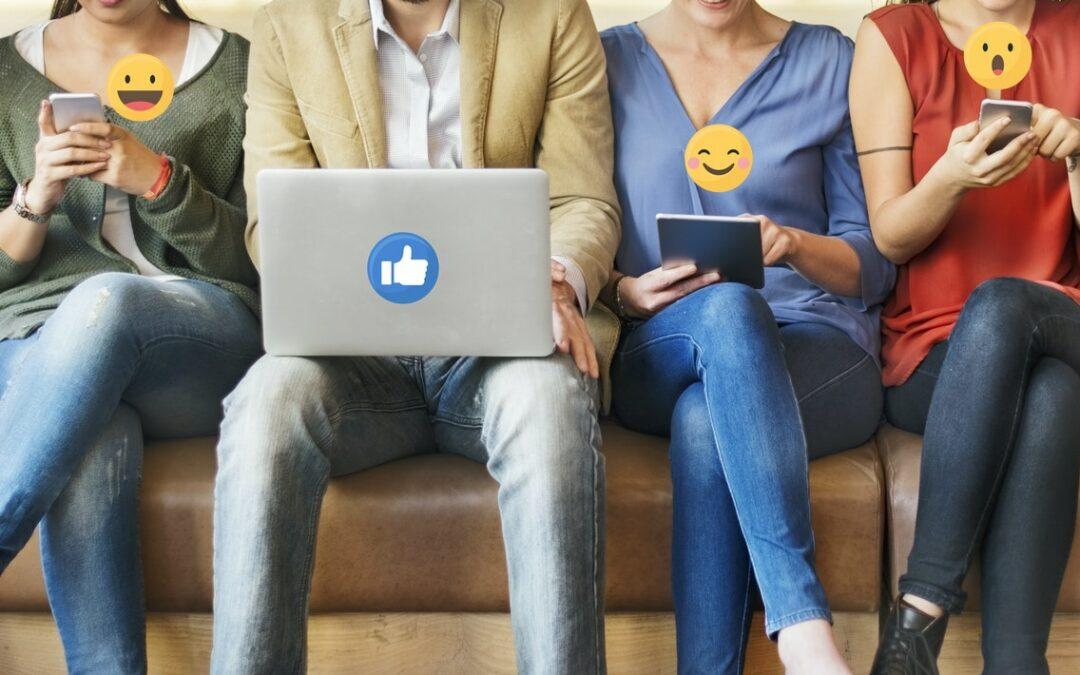 reactions reseaux sociaux inviatis webmarketing