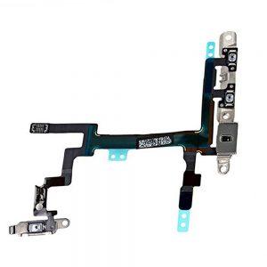 iPhone 5 Av/ På Volum Flex Kabel med metallbraketter