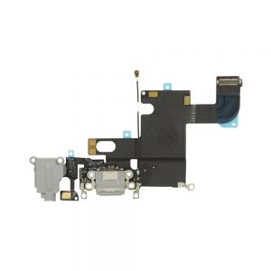 iPhone 6 Ladeport, Mikrofon og Audio Jack Flex Kabel (Svart)