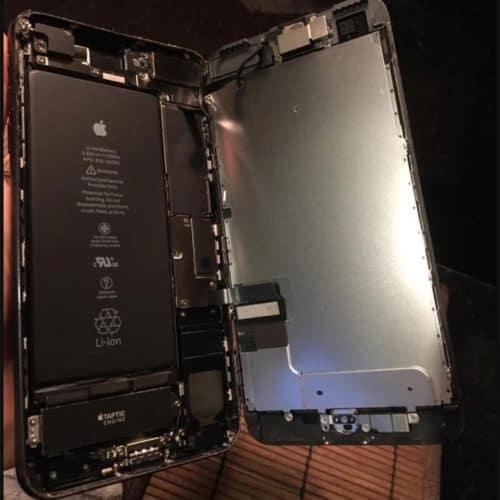 iPhone 7 Skjerm svart, LCD og Touch – EMC photo review