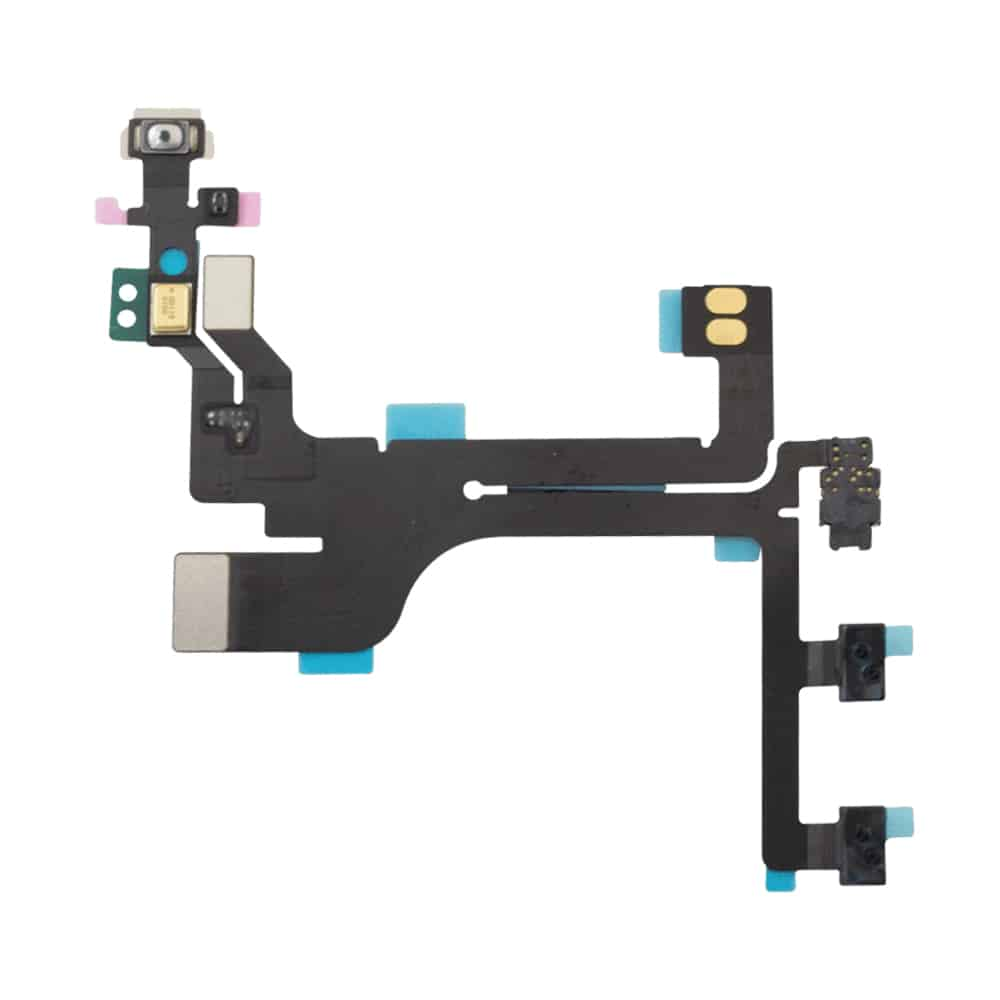iPhone 5c Ladeport, Mikrofon, Audiojack Flex Kabel iPimp.no