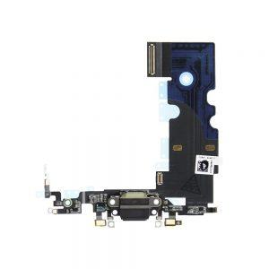iPhone 6 Ladekontakt Flex Kabel Svart