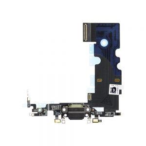 iPhone 8 Ladekontakt Flex Kabel Grå