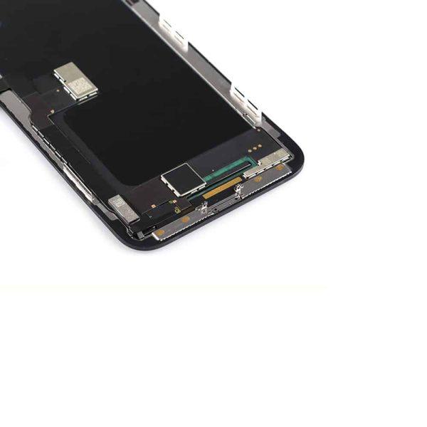 iPhone X skjerm med OLED