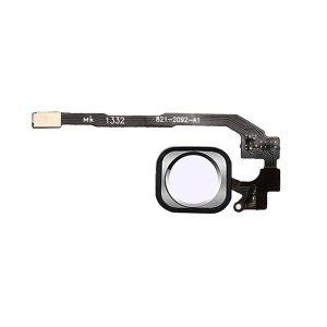 iPhone 5s Hjemknapp med Flex Kabel - Sølv