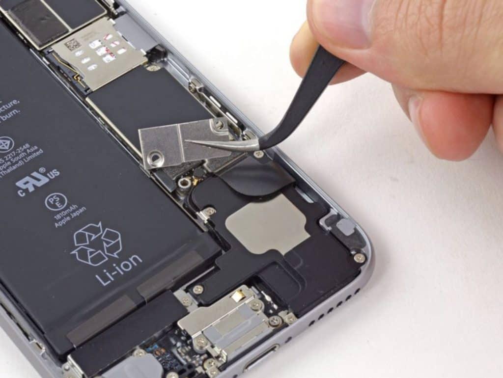 Bytte skjerm iPhone 6 - 10