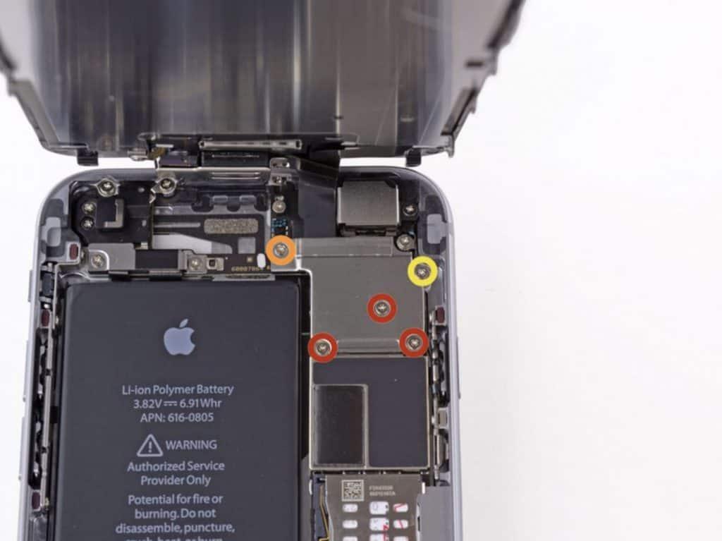 Bytte skjerm iPhone 6 - 12
