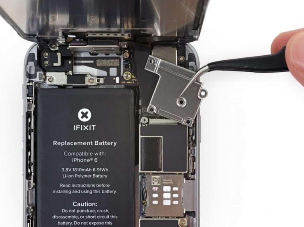 Bytte skjerm iPhone 6 - 13