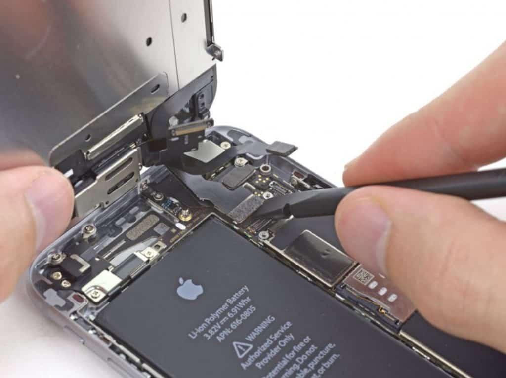 Bytte skjerm iPhone 6 - 16