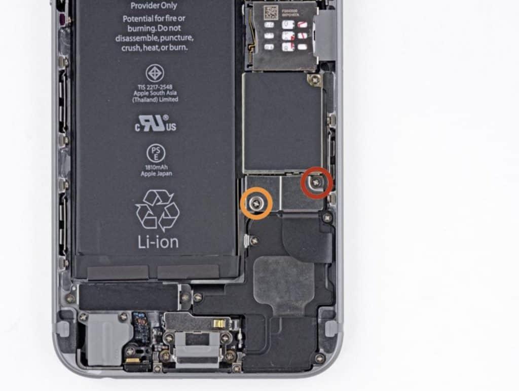 Bytte skjerm iPhone 6 - 9