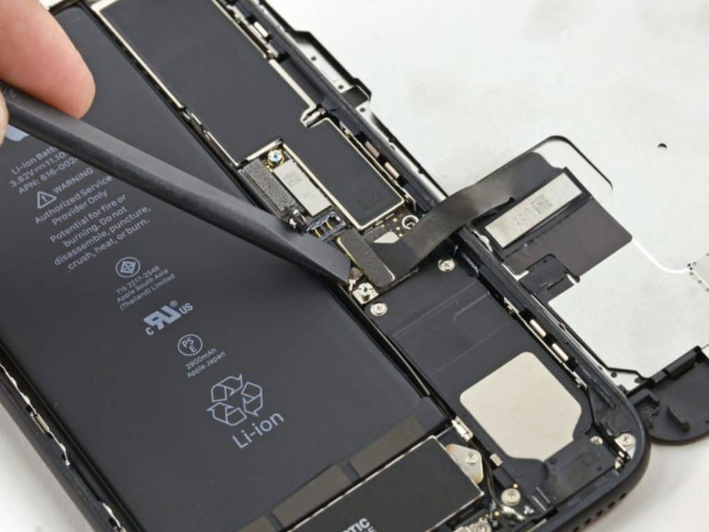 Bytte skjerm iPhone 7 Plus - 14