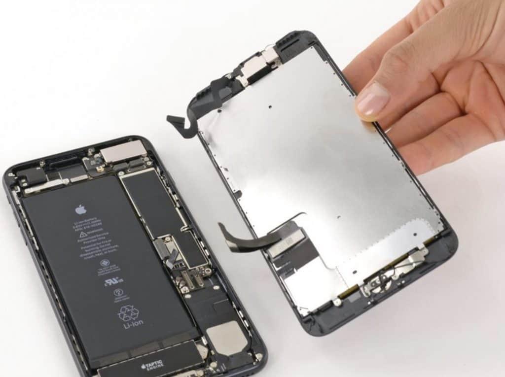Bytte skjerm iPhone 7 Plus - 19