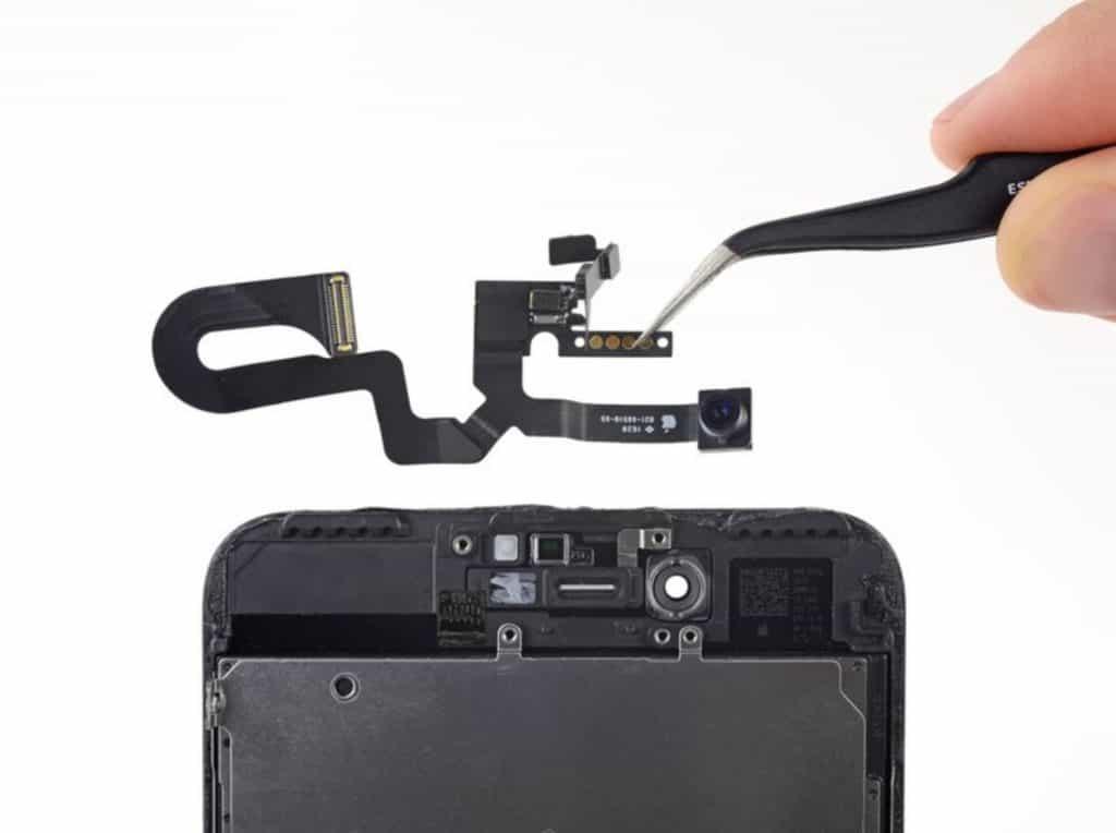 Bytte skjerm iPhone 7 Plus - 50