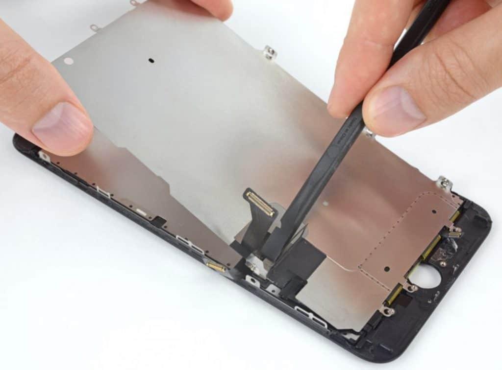 Bytte skjerm iPhone 7 Plus - 55