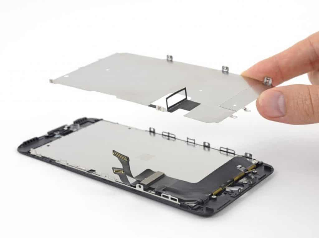 Bytte skjerm iPhone 7 Plus - 56