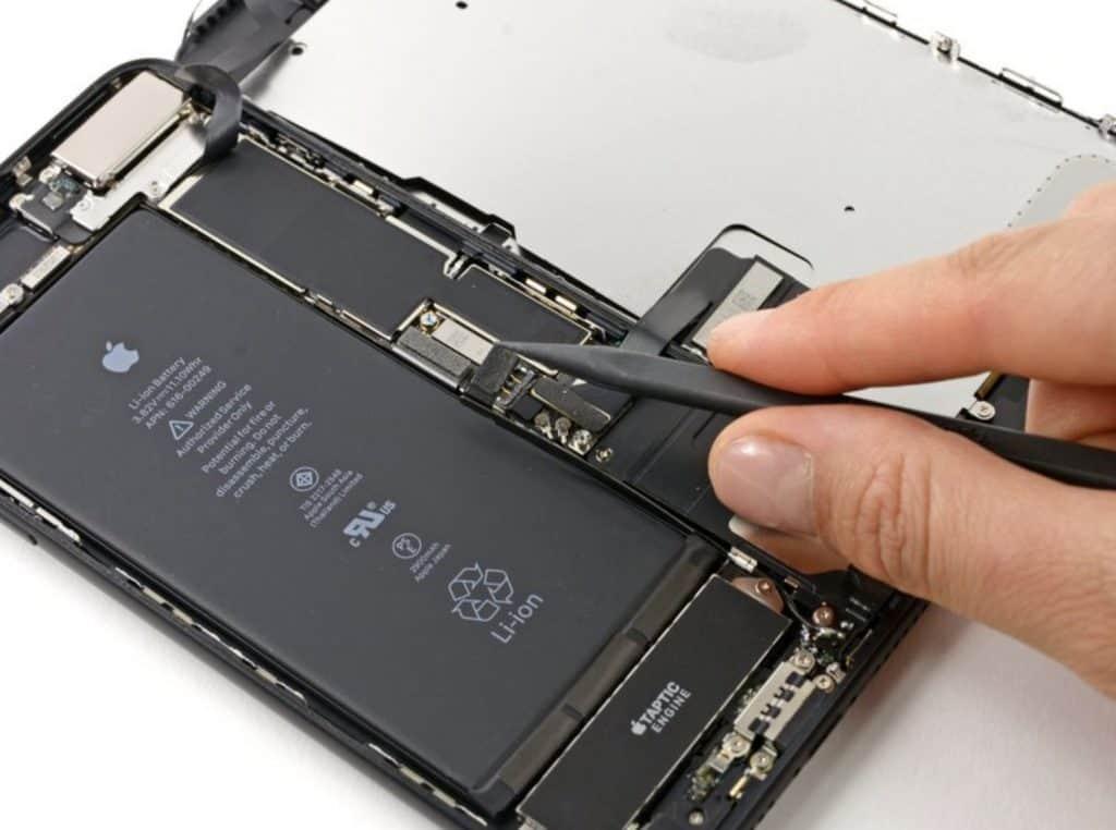 Bytte skjerm iPohne 7 Plus - 13