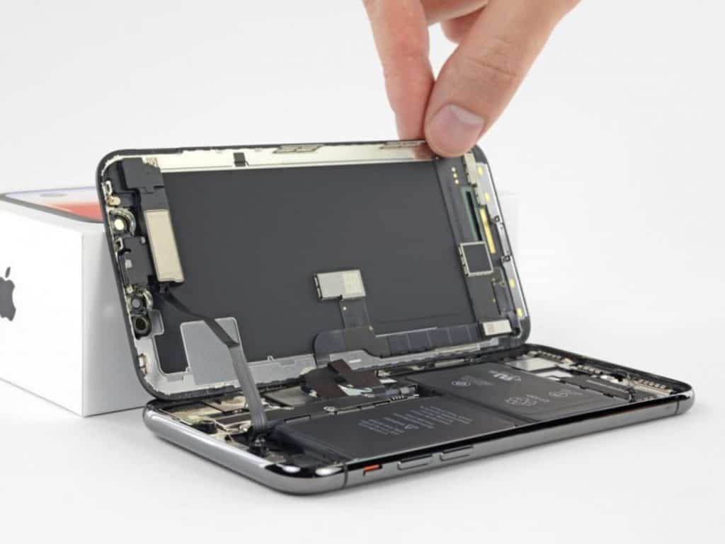 iPhone X skjermbytte 10
