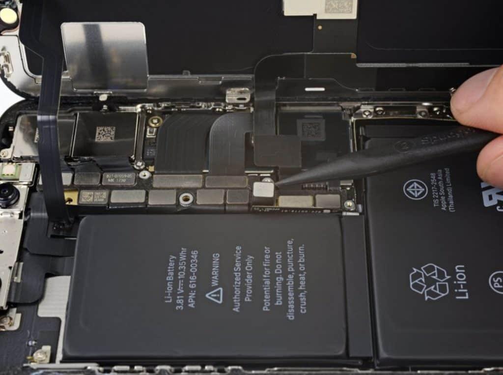 iPhone X skjermbytte 14