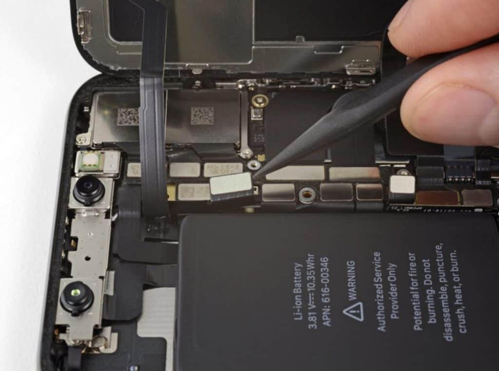 iPhone X skjermbytte 15