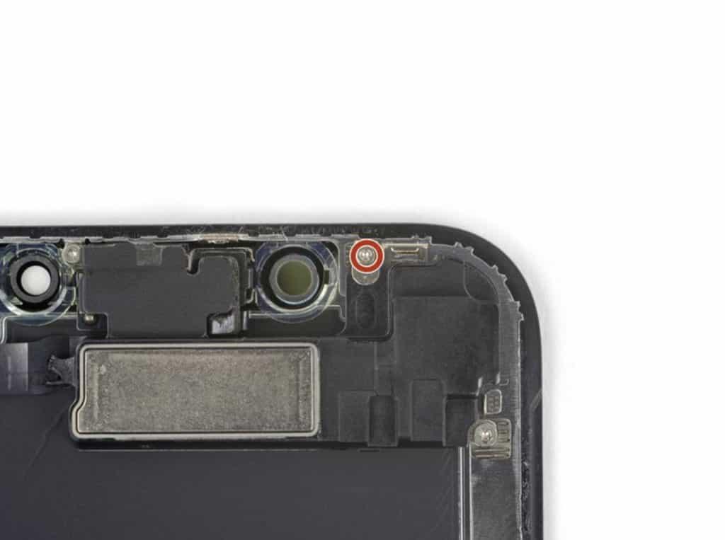 iPhone X skjermbytte 20
