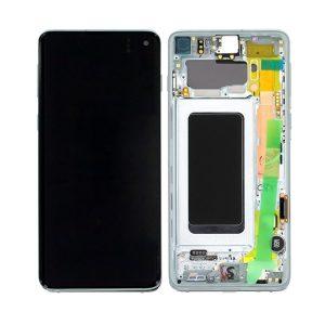 Samsung Galaxy S10 skjerm - Prisme Grønn
