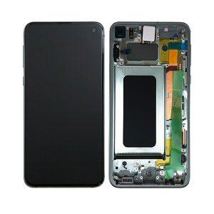Samsung Galaxy S10e skjerm - Grønn
