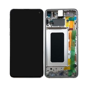 Samsung S10e skjerm - Hvit