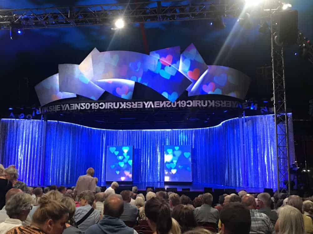 Cirkusrevyen 2019 - scenen