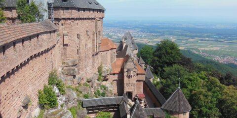 Château du Haut-Koenigsbourg & Montagne des singes