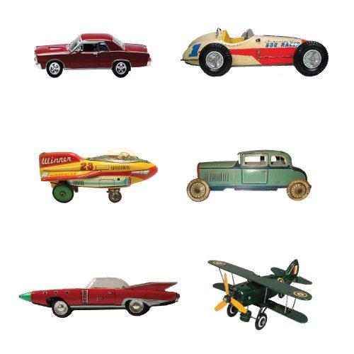 Tin Toys Wallpaper
