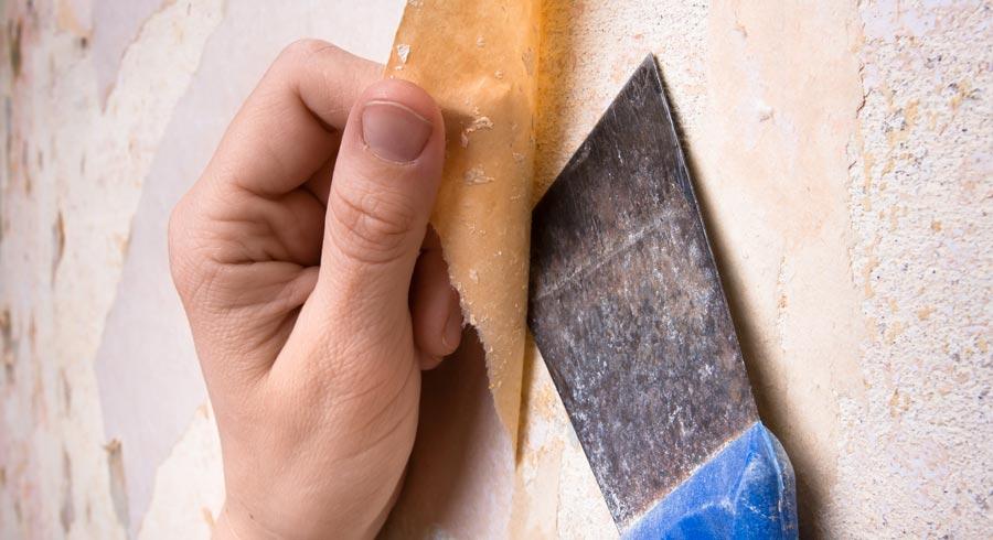 Behang verwijderen – hoe doe ik dat?