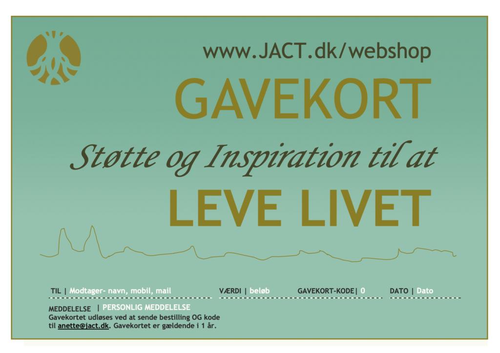 Gavekort fra Jact.dk