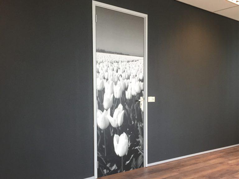 full colour print kantoor deur